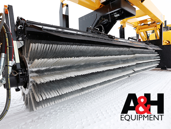 Airport Snow Removal Brooms