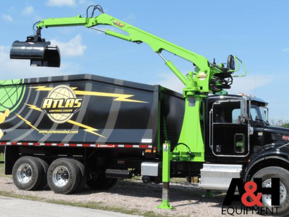 Atlas Lightning Loader – Heavy duty grapple loader