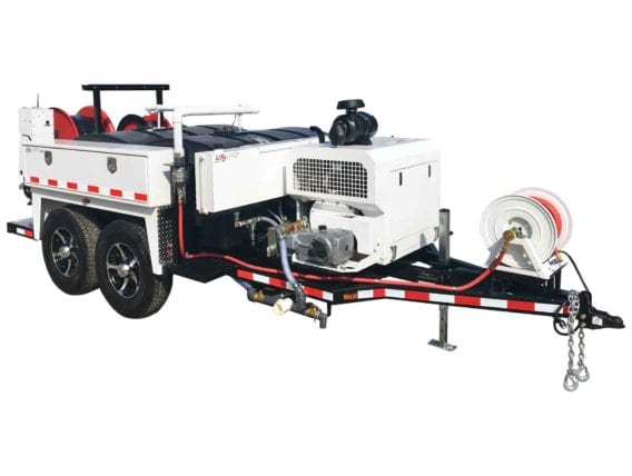 US Jetting®  Ramjet Trailer & Skid Mount
