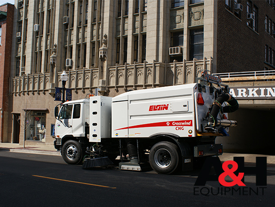 Compressed Natural Gas (CNG) Sweepers
