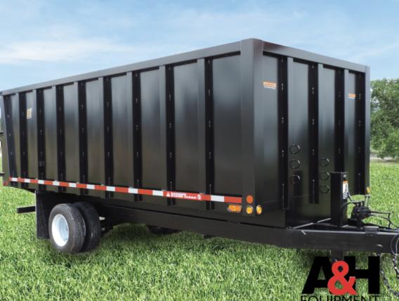 Model TT-2 – Trash Dump Trailer